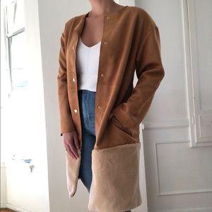 Classy Tawny Thin Coat